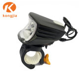 LED recargable luz delantera de bicicletas de paseo de noche