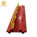 Portable 1000*245*45mm rampa do protetor do cabo do PVC de 2 canaletas