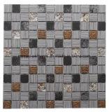 23*23mm de diseño de fondo de la pared mosaico Mosaico de vidrio