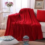 Coperta lavorata a maglia cotone di grande misura 1kg 120*180cm