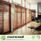 Otturatori decorativi di legno della piantagione dell'otturatore della finestra del Basswood