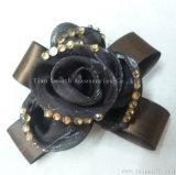 Fashion mousseline Bowknot Multicolor Rhinestone fleur décorative accessoires du vêtement