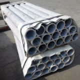 Dibujada en frío de aleación de aluminio redonda perfecta hueco del tubo de 2A12 T4.