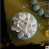 가정 향수 유포자를 위한 꽃 석고를 가진 아름다운 50ml 세라믹 화병