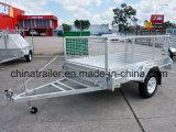 8X5 Boîte en acier galvanisé avec cage de remorque
