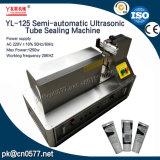 赤ん坊のクリーム(YL-125)のための半自動超音波管のシーリング機械
