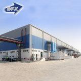 Almacén de acero de la azotea prefabricada industrial barata del metal de China para la venta