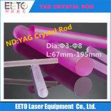 Nd van de goede Kwaliteit: Staaf YAG voor Machine van de Schoonheid van het Lassen van de Laser de Scherpe