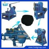 Macchina di gomma del frantoio di alta qualità utilizzata per il pneumatico residuo che ricicla la linea di produzione