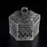 De nieuwe Kruik van de Kaars van het Glas van Lidded van de Aankomst
