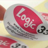 Hoogste Kwaliteit om de Sticker van het Etiket van het Embleem van de Druk van het Document