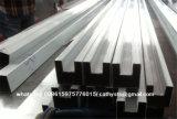 Canal de la sección de la dimensión de una variable del ajuste U del acero inoxidable U para los pasamanos de cristal