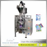 La harina de trigo vertical automática, polvo detergente que se lava, condimenta la empaquetadora de la bolsa del polvo, llenando la empaquetadora