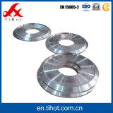 Placa fazendo à máquina da forma redonda das peças do CNC do bom desempenho