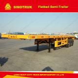 3моста 40FT планшет контейнер полу грузового прицепа