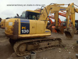 Excavatrice utilisée de KOMATSU 13ton d'excavatrice de chenille de KOMATSU PC130-7