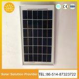 Nuevo diseño del sistema de iluminación solar 5W Piscina Kits solar portátil