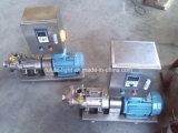 Nahrungsmittelgrad-Edelstahl-Doppelt-Schrauben-Pumpe für Viskosität-Flüssigkeit
