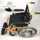 電気電動車椅子を折っているGreenpedel 24Vのライト級選手
