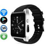 3G WiFi verdoppeln intelligentes androides Uhr-Telefon Mtk6572 der Uhr-X86 Kern WiFi GPS 2.0MP Kamera Bluetooth