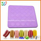 حرارة - مقاومة 25 تجويف سليكوون [مكرون] تحميص حصير