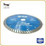 Turbo малые алмазные пилы для конкретных гранита мрамора режущий диск