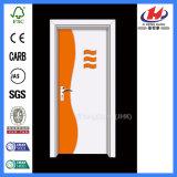 Дверь PVC хозяйственного пожара цены туалета пластичного Rated