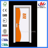 Ökonomisches Toiletten-Plastikpreis-Feuer Nenn-Belüftung-Tür