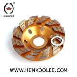 Одиночное колесо чашки диаманта рядка для бетона
