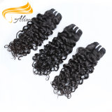 インドの深い巻き毛の卸し売り純粋なバージンのインド人の毛