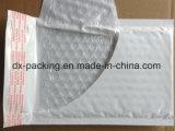 Branco e Cinza de plástico impermeável à prova de PE pacote pequeno saco com Envelope Bolha de plástico bag bolsa de espuma de correio expresso.