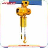 tipo alzamiento de cadena eléctrico de 0.5t 1t 2t 3t 5t 7.5t 10t Kito con el alzamiento de cadena eléctrico eléctrico de la carretilla 1p/3p Hhbb