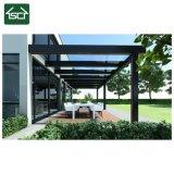 Forte estrutura em policarbonato prefabricados House Teto Pátio de alumínio