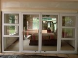 Guichet en aluminium et porte de Woodwin pour l'usage à la maison