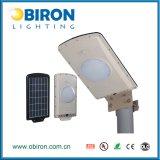 luz de rua solar completa do sensor de movimento de 6W IP67 Aio PIR
