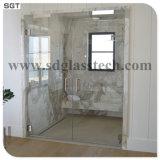 Limpar o vidro temperado gabinetes de telas de banho de chuveiro