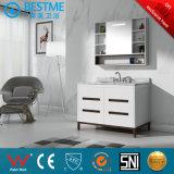 Badezimmer Vainties Fußboden, der hölzernen Schrank by-X7107 steht
