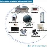 Espectrómetro de luz LED precisa CRI Lumen Esfera