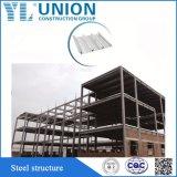 Einfaches zusammengebautes vorfabriziertes Stahlrahmen-Haus