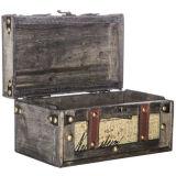 خشبيّة [ستورج بوإكس] ساحر أناقة أسود شنطة صندوق مجموعة