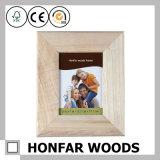 Zoll gravierter festes Holz-Bilderrahmen für Staffelung-Geschenk