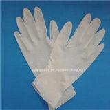 Stelized o en polvo de látex sin polvo guantes quirúrgicos