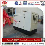 generador diesel de Xichai Denyo del pabellón silencioso de 16kw/20kVA con la copia Stamford y ATS