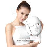 Rejuvenecimiento de la piel Ance y afrontar el tratamiento de máscara de LED con cuello