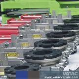 Oblate-u. Öse-Edelstahl-oder Roheisen-elektrischer und pneumatischer Schlamm-Schleuse-Messer-Absperrschieber