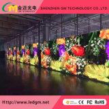 Indoor équipement de scène P3.91 Location Mur d'affichage vidéo LED