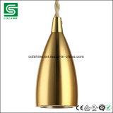 Colshine E26/E27 Perlen-Schwarz-konisches Lampenhalter-Metallanhänger-Licht