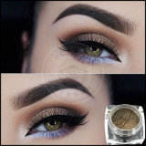 El oro mineral Focallure metálico del polvo del sombreador de ojos del pigmento del maquillaje suelta brillo