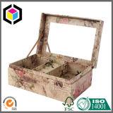 Cadre de empaquetage cosmétique de cadeau de papier rigide de protecteur de mousse