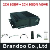 4CH HD передвижное DVR для шины/таксомотора/тележки/кораблей 3G/4G/GPS